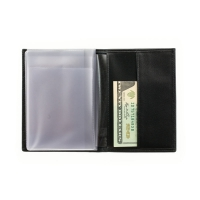 Бумажник водителя мужской А-БИ-1 малка черный