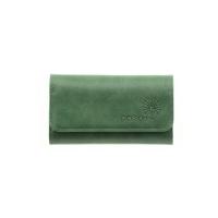 Ключница кожаная  С-КС друид зеленый