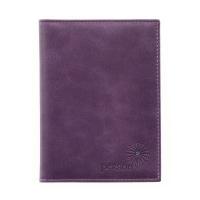 Обложка для автодокументов женская  С-ОВ-1 друид фиолетовый