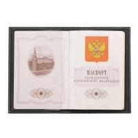 Обложка для паспорта кожаная ОП 2 Г