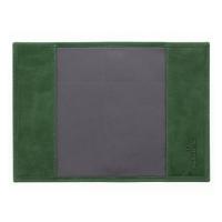 Обложка для паспорта кожаная  С-ОП-К друид зеленый