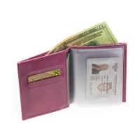 Бумажник водителя женский  С-БИ-1 друид розовый