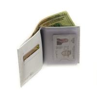Бумажник водителя женский  С-БИ-1 кайман белый