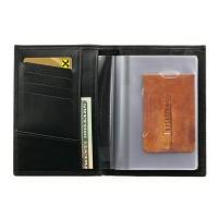 Бумажник водителя мужской  А-БИ-2 малка черный