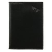 Бумажник водителя мужской  А-БС-2 малка черный