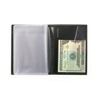 Бумажник водителя мужской А-ОВ-1 малка черный