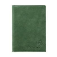 Обложка для автодокументов женская  С-БС-1 друид зеленый