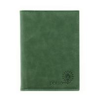 Обложка для автодокументов женская С-ОВ-1 друид зеленый