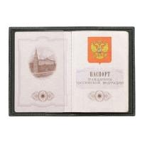 Обложка для паспорта кожаная ОП 1 Г