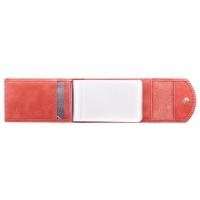 Визитница карманная  С-ВМ-3 друид красный
