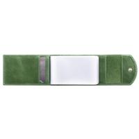 Визитница карманная  С-ВМ-3 друид зеленый